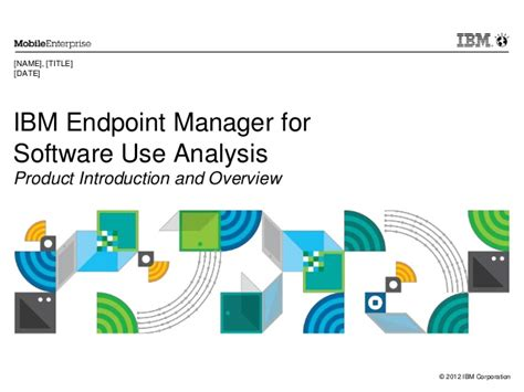 ibm endpoint manager for software use analysis overview