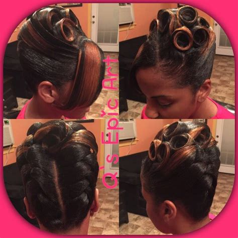 faulk french rolls hair styles 17 best images about updos on pinterest protective