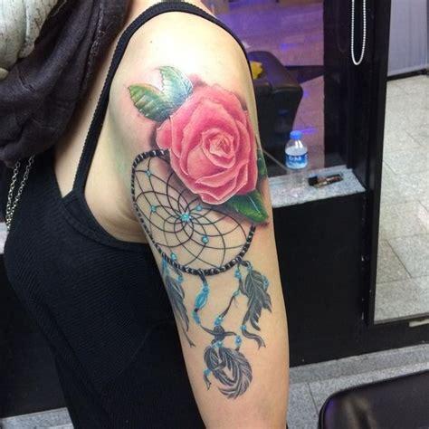 dreamcatcher tattoo half sleeve 50 dreamcatcher tattoo best designs with meaning