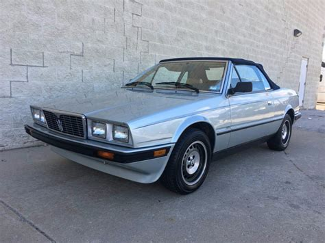 1987 Maserati Biturbo For Sale by 1987 Maserati Biturbo Spyder Zagato Convertible Stock