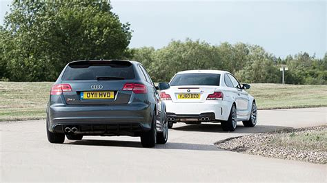 bmw 1 series top gear audi rs3 vs bmw 1 series m coupe top gear