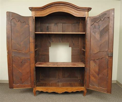 french country armoire wardrobe large country french louis xv style wardrobe cabinet