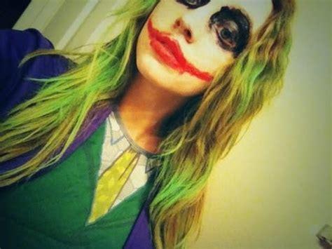quick easy joker halloween makeup  guys  girls youtube