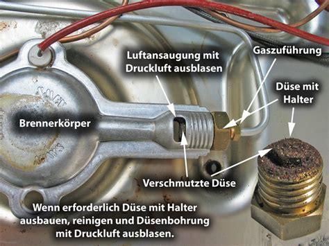 Gasherd Flamme Einstellen by Wartung Kochmulde Cing Wiki