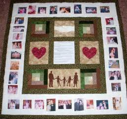 family photo quilts family photo