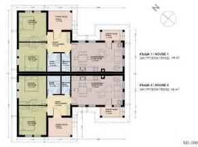 Floor Plans For Semi Detached Houses Semi Detached House Plans