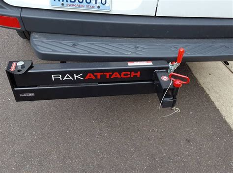 swing hitch cargo carrier rakattach swing away hitch receiver planning to use it