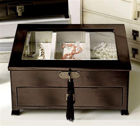 Emmett Jewelry Dresser by Emmett Medium Jewelry Box Pottery Barn