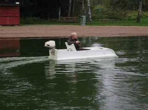styrofoam boat airboat full scale rc  youtube