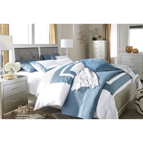 bedroom groups ashley signature design olivet glam king bedroom group