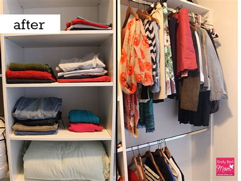 How To Organize Your Clothes In Your Closet by How To Declutter Your Closet And Something Left To Wear
