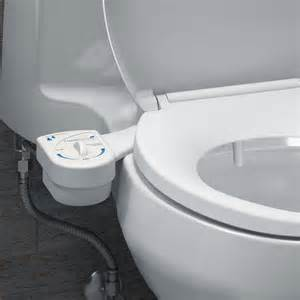 Water Toilet Bidet freshspa easy bidet toilet attachment brondell