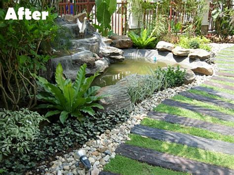 Landscape Experts But Once You Replace It With A Rock Waterfall And