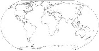 How To Draw A Map Of The World by How To Draw A World Map