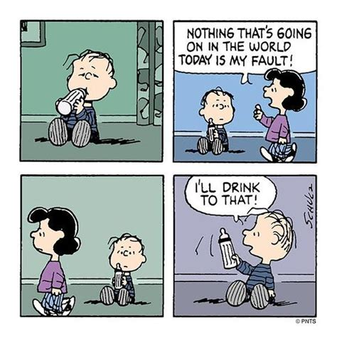 Cheers To Peanuts by Monday With Comic Strips Mondays