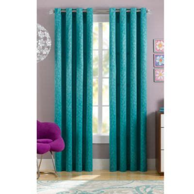 turquoise window curtains buy turquoise curtains from bed bath beyond