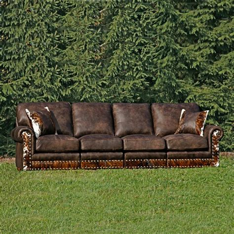 Western Furniture Hinsdale Stallone Sectional Sofa With Western Sectional Sofa
