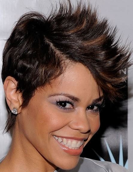 short hairstyles for black women that flat iron show how to do it best mohawk hairstyles for black women find the best