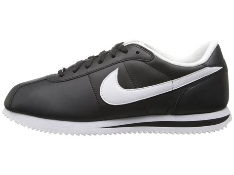 nike cortez black leather shoes cliftonrestaurant co uk