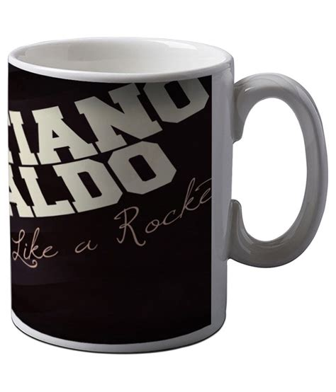 Mug Cristiano Ronaldo artifa cristiano ronaldo strike coffee mug buy at best price in india snapdeal