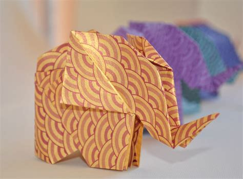 Origami Elephant Tutorial - origami elephant tutorial by leila torres https www