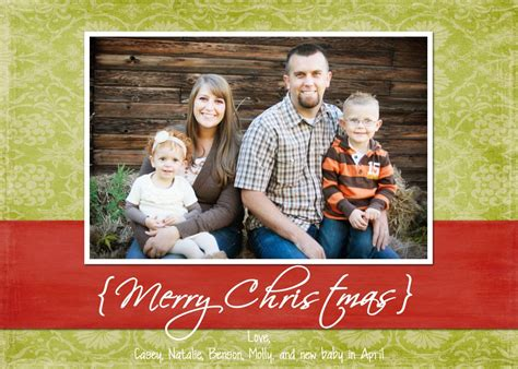 Family Portrait Card Template by Free Card Templates The Creative
