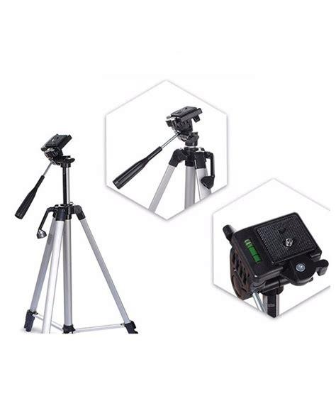 Stok Terbatas Weifeng Portable Lightweight Tripod Stand Max Height weifeng wt3110 portable tripod stand silver silicon pk