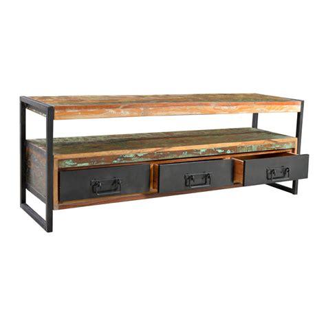 tv meubel van hout lavis ary meerkleurig tv meubel van hout