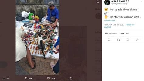bikin salfok penjual mainan bekas  banjir doa