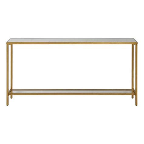 gold sofa table uttermost hayley gold console table on sale