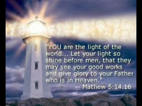 Let The Light Shine Through by Let The Light And Of Jesus Shine Through You