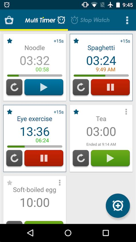 timer app android multi timer stopwatch android apps on play