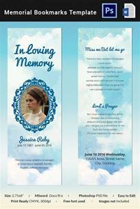 10 memorial bookmarks templates free psd ai eps