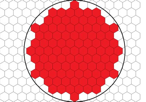Drawing Ideas by Geometry Hexagon Packing In A Circle Mathematics Stack