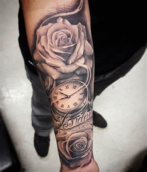 top 55 best rose tattoos for men fine tailored