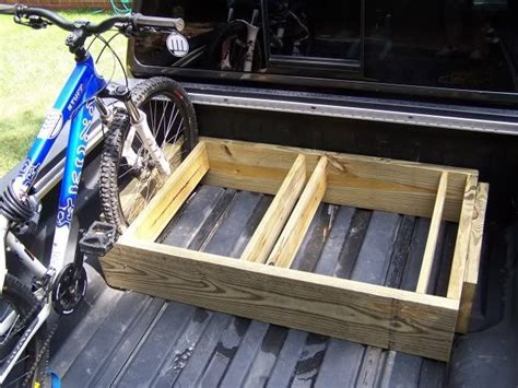 truck bed cer diy 25 best ideas about truck bed bike rack on pinterest