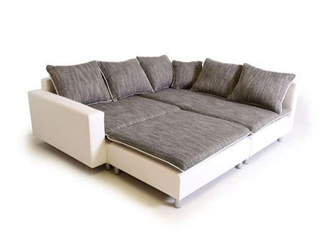 daggi ecksofa sofa couch weisshellgrau links