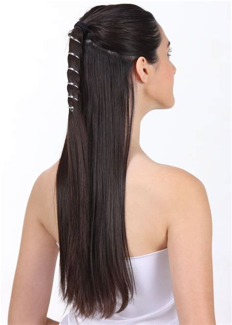 silver ponytail ponytail wrap silver 6 inch ponytail wraps metal for