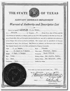 Tx Warrants The Official Ranger Of Fame And Museum In Waco