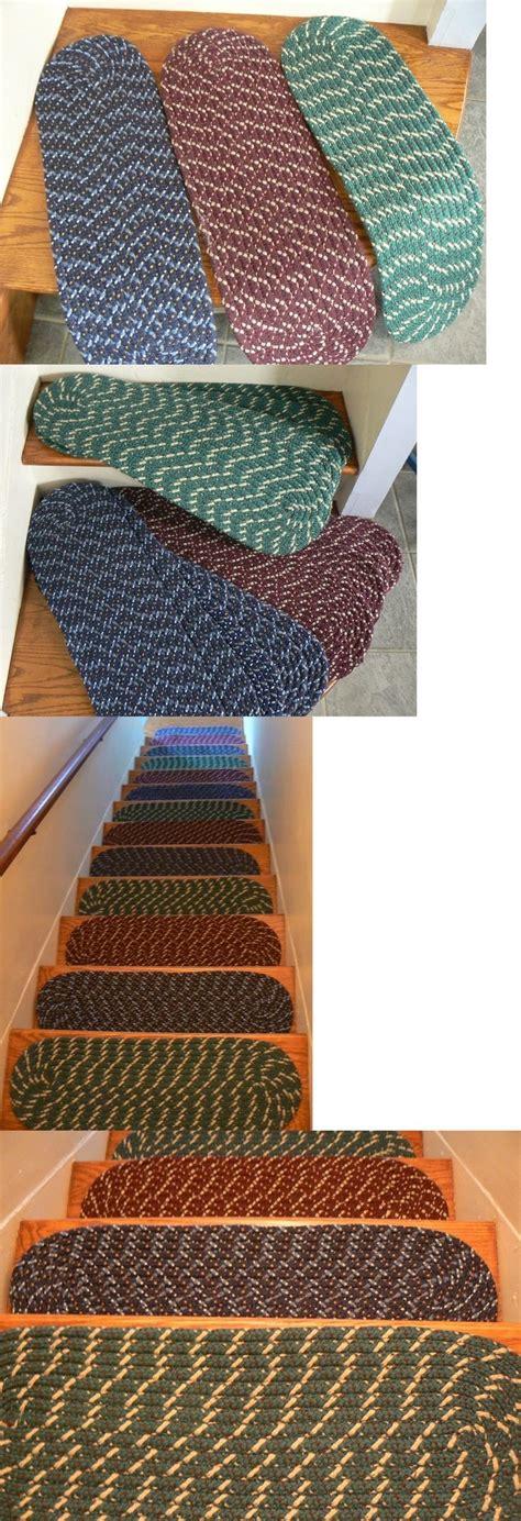 braided stair tread rugs braided rug stair treads rugs ideas
