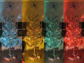 aluminum tree color wheel aluminum tree with color wheel light of all the