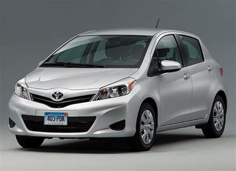 Toyota Yaris Reliability Ratings Top 10 Most Reliable Cars 25 000 Consumer Reports
