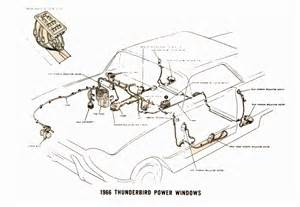 ford thunderbird i am current troubleshooting power windows