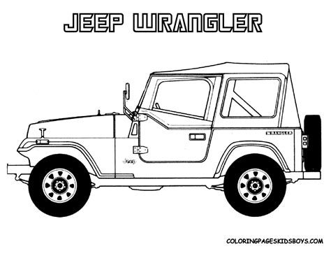 jeep coloring pages jeep coloring pages kidsuki