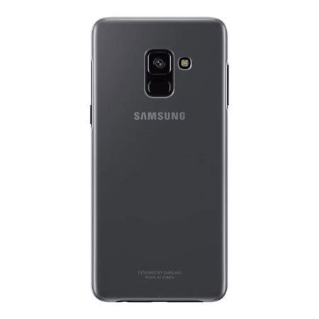 Official Anymode Clear Cover For Samsung Galaxy A8 Gold Murah official samsung galaxy a8 2018 clear cover reviews