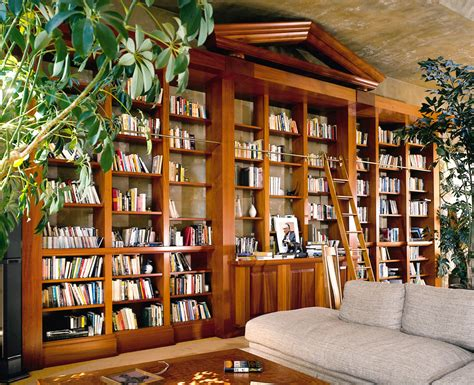 built with built in bookcase library berkeley mills
