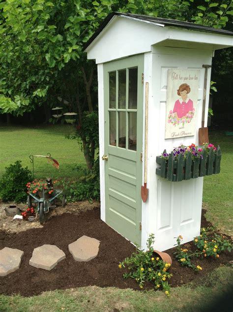 great garden shed    doors home diy fixes