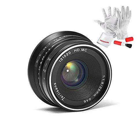 7artisans 25mm F1 8 Manual Focus Prime Fixed Lens For