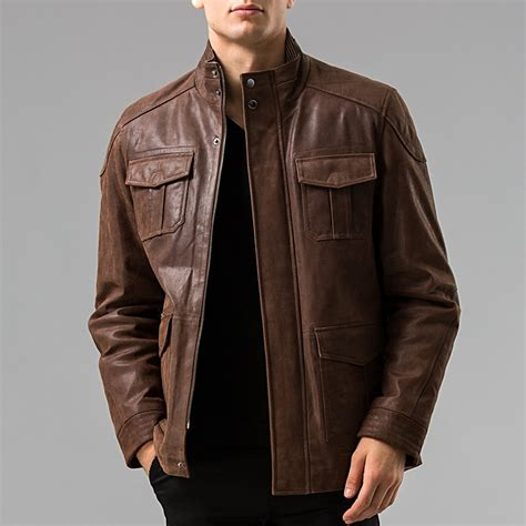 Genuine Leather Jacket aliexpress buy s 6xl s genuine leather jacket