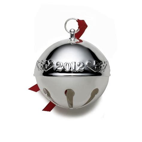 wallace silver bell 2018 wallace 2012 silver plated sleigh bell ornament 42nd edition